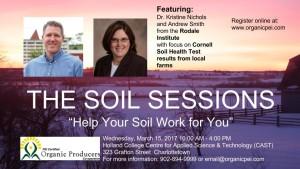 soils sessions promo