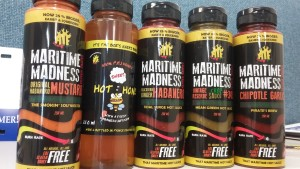 Maritime Madness squeesie bottles